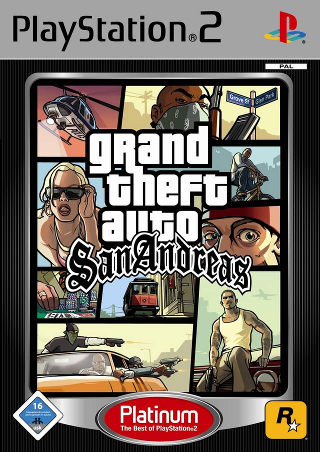 GRAND THEFT AUTO: SAN ANDREAS PLATINUM - PS2 - Imagen 260182