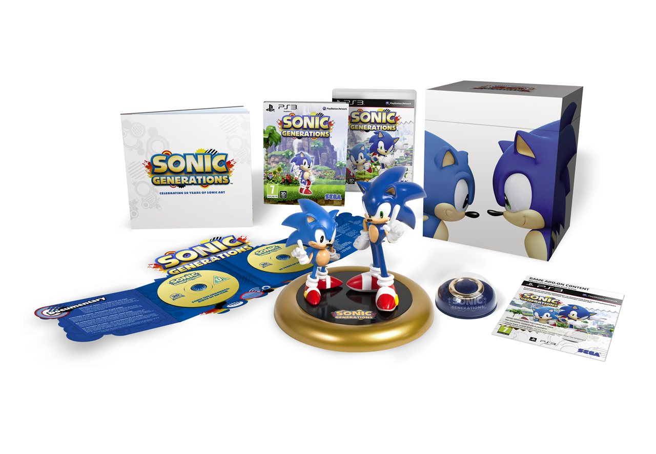 Sonic Generations (Collector Edition) - PS3 - Imagen 380810