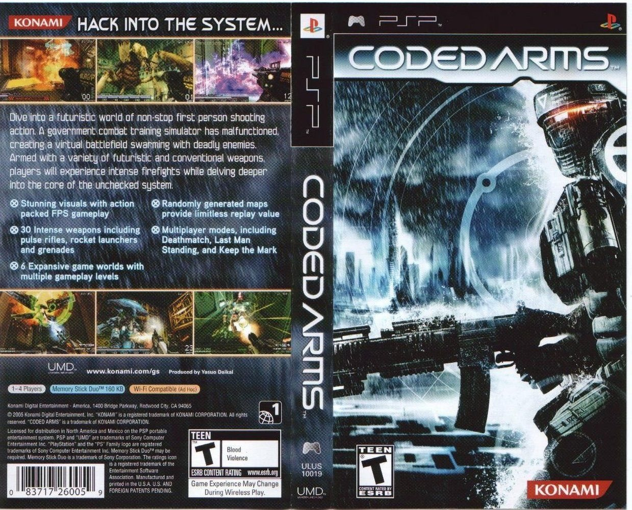 CODED ARMS - PSP - Imagen 423116