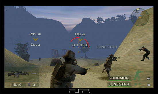 SOCOM: US NAVY SEALS FIRETEAM BRAVO + HEAD SET - PSP - Imagen 257789