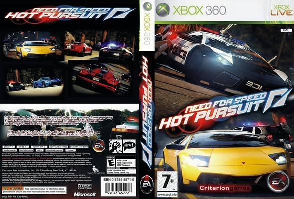 NEED FOR SPEED: HOT PURSUIT - WII - Imagen 365928