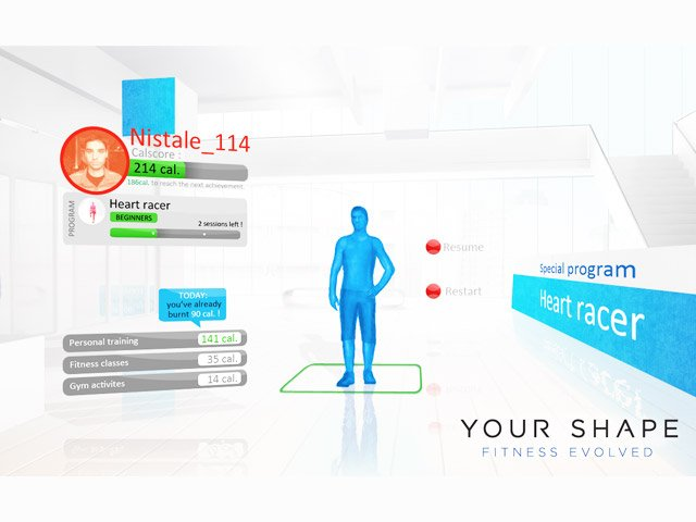 YOUR SHAPE: FITNESS EVOLVED (KINECT) - XBOX360 - Imagen 371141