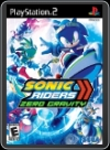 PS2 - SONIC RIDERS: ZERO GRAVITY