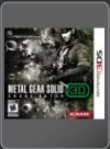 3DS - Metal Gear Solid: Snake Eater 3D