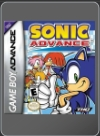 GBA - SONIC ADVANCE