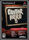 PS2 - GUITAR HERO 5