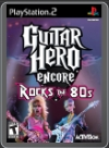 PS2 - GUITAR HERO: ROCKS THE 80S