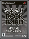 PS2 - ROCK BAND METAL TRACK PACK