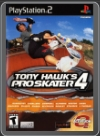 PS2 - TONY HAWK S PRO SKATER 4