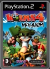 PS2 - WORMS 4: MAYHEM
