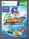 XBOX360 - SONIC FREE RIDERS (KINECT)