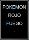 GBA - POKEMON ROJO FUEGO - VERSION INGLESA